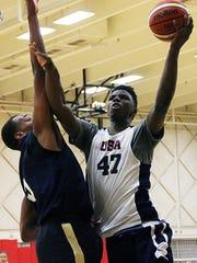 Kentucky's Hamidou Diallo during USA Basketball training