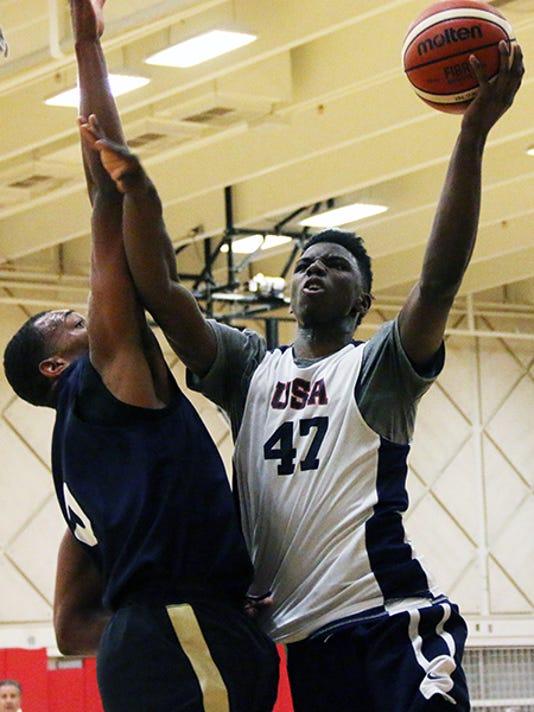 Diallo, USA Basketball