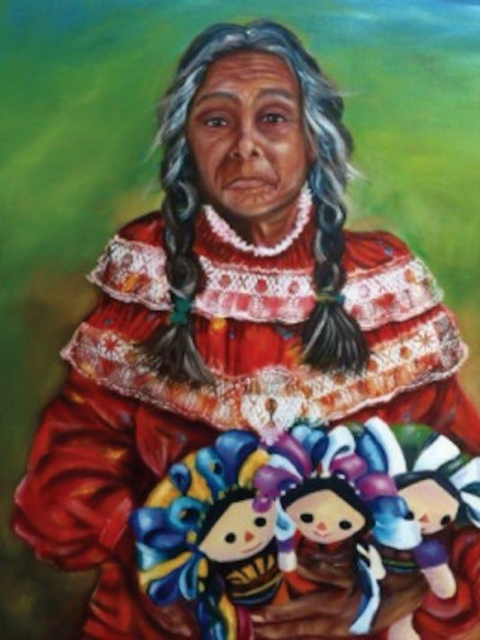 """""""Artesana"""" by Julieta Chacon."""