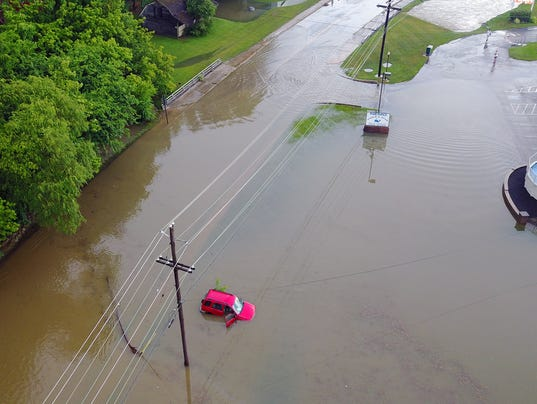 Flooding in Springettsbury Township