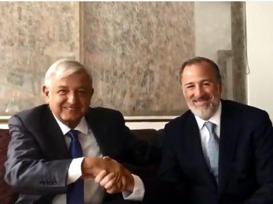 El virtual Presidente electo, Andrés Manuel López Obrador