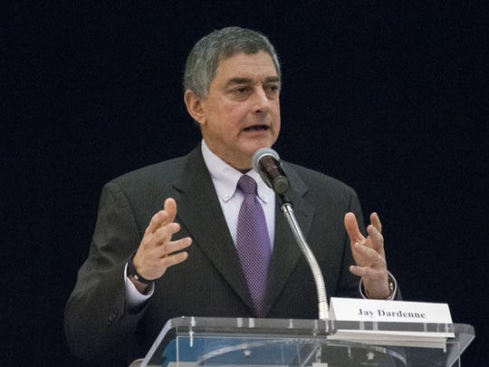 Louisiana Commissioner of Administrator Jay Dardenne keynotes the Louisiana Redistricting Summit at the Lod Cook Alumni Center on Jan. 19.