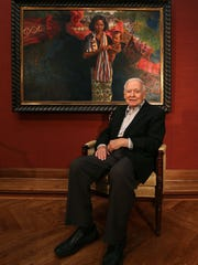 Former Iowa Gov. Robert Ray in a 2013 photo.