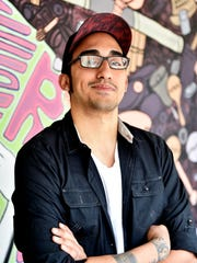 York-based recording artist Gabriel Rodriguez stands for a portrait at AK Beatz in York. Rodriguez is one of about 160 artists who have recorded at AK Beatz since last March.