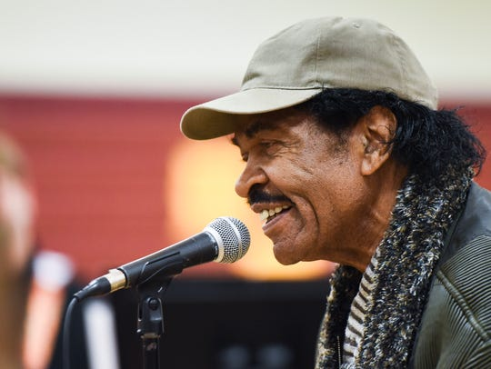 Grammy award-winner Bobby Rush, 84, of Jackson, Mississippi,