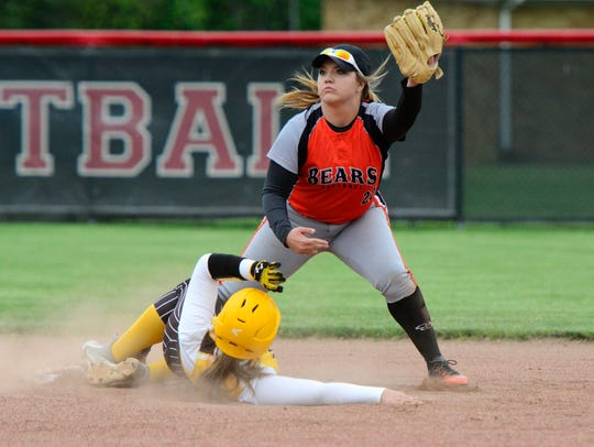 Gibsonburg junior Jasmine McNett is an infielder on the News-Messenger's softball team.