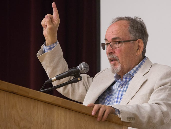 David Horowitz, the controversial speaker and author