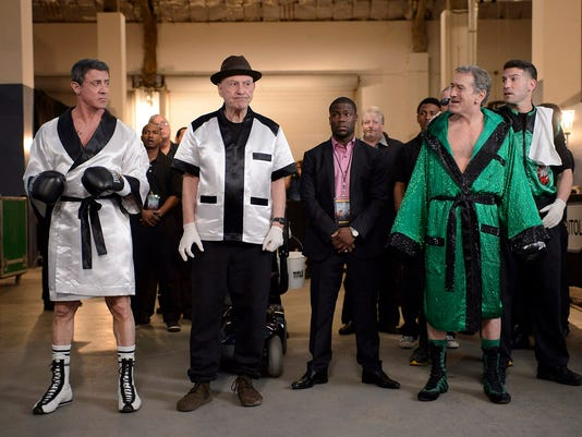 Exclusive 'Grudge Match' Picture