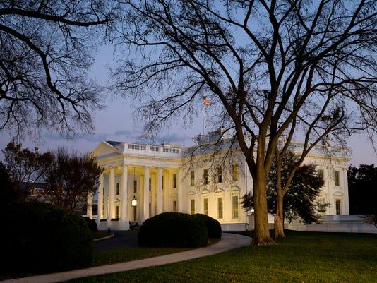 2016 White House Path