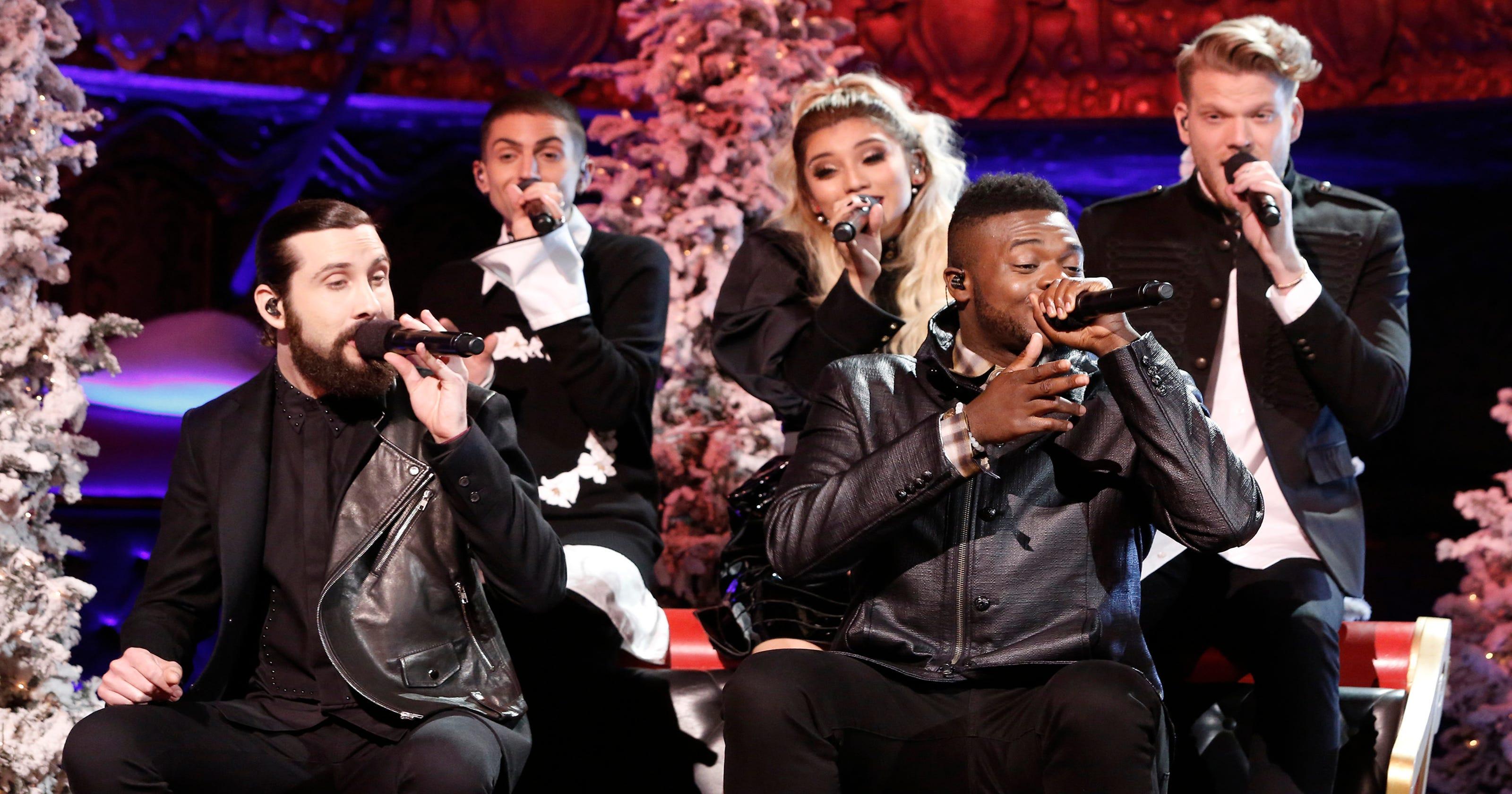 Pentatonix Christmas Special.Tv Tonight Pentatonix Christmas Special Abc Sitcoms