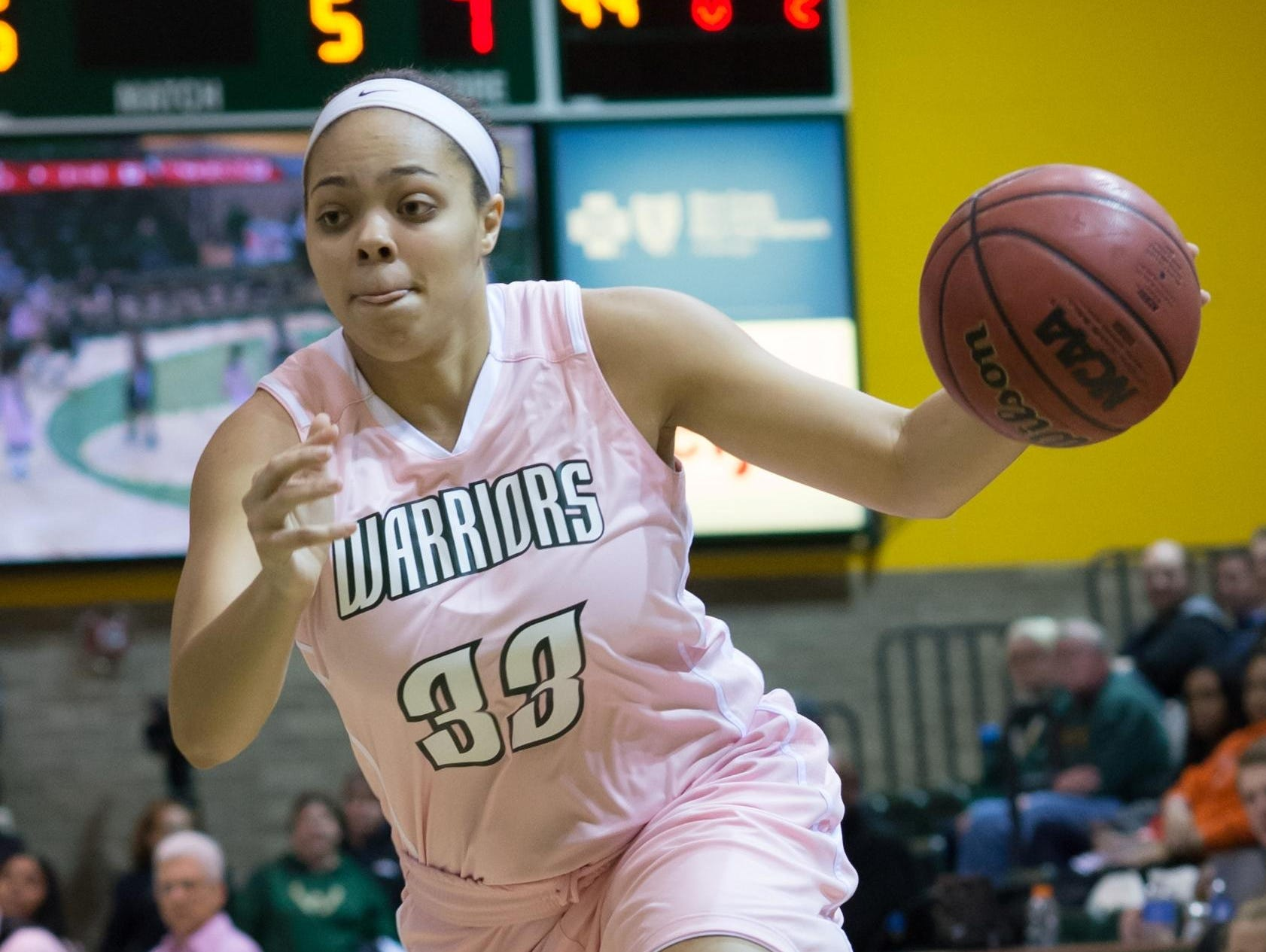 Shannon Wilson, who played prep basketball in Bloomfield Hills, has worked hard to become a starting guard for the Wayne State University women's basketball team this season.