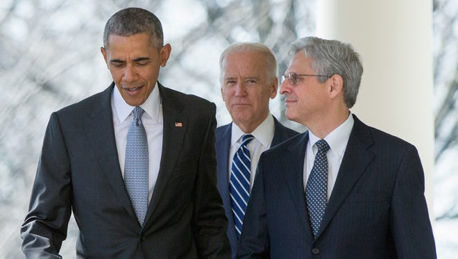 President Obama nominated Judge Merrick Garland in 2016.
