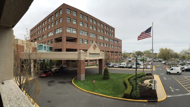 Monmouth Medical Center is shown in Long Branch.