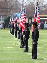 North Plainfield High School's ROTC program is very active in the community.