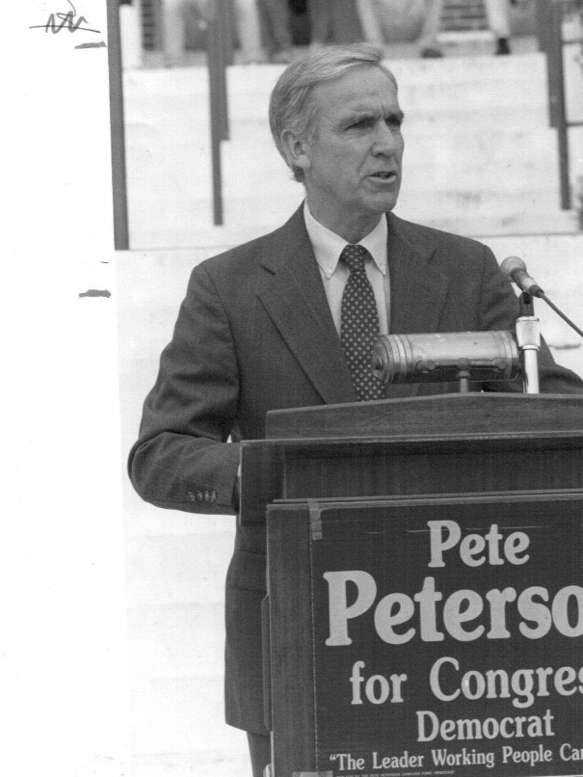 Pete Peterson, who spent three terms in Congress, believes
