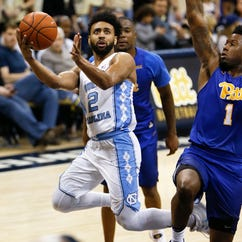 No. 8 North Carolina stays on track for ACC title with defeat of Pittsburgh