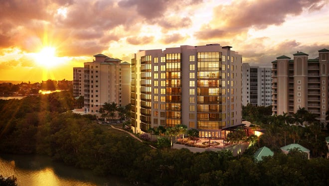 Residents and visitors at London Bay Homes' 11-story Grandview at Bay Beach luxury high-rise will have an opportunity to enjoy the vistas that are the building's hallmark throughout the day.  Reservations are being accepted.