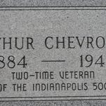 The grave of Arthur Chevrolet is at Holy Cross Cemetery, on the Southside of Indianapolis. Will Higgins recently wrote about how the graves of the Chevrolet brothers, who designed, built and raced their own cars, are modest memorials in disrepair.