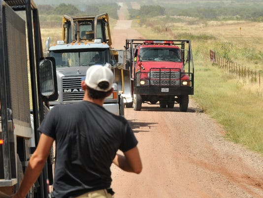 Multiple agencies work to control Archer Co. Fire