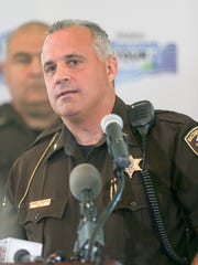 Macomb County Sheriff Anthony Wickersham.