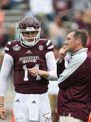 Mississippi State coach Dan Mullen is trying to find a way to get Nick Tiano game reps.