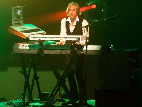Alan Hewitt, touring keyboardist for The Moody Blues, will lead his own band, One Nation, for a performance on Aug. 27 at the O.C. Tanner Amphitheater in Springdale.