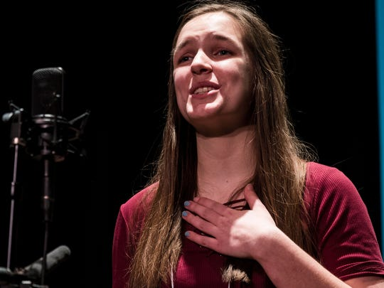 Lake Region Union High School student Emily Klar took second place last week in the Poetry Out Loud state finals held in Colchester.