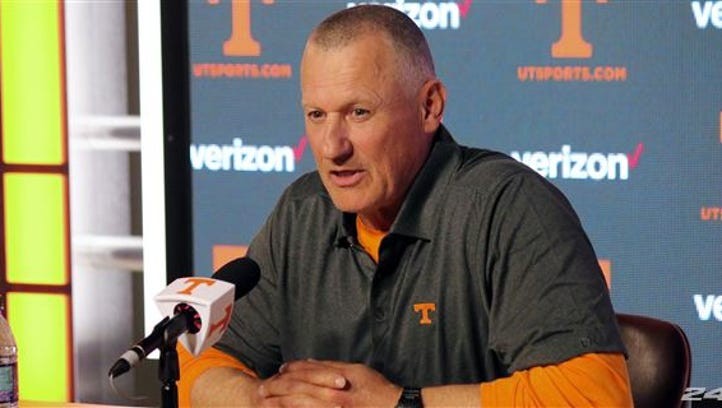 Tennessee strength coach Rock Gullickson has earned players' respect