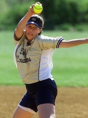 Lindsay Knapp Garber helped Elmira Notre Dame to four Section 4 titles in softball.