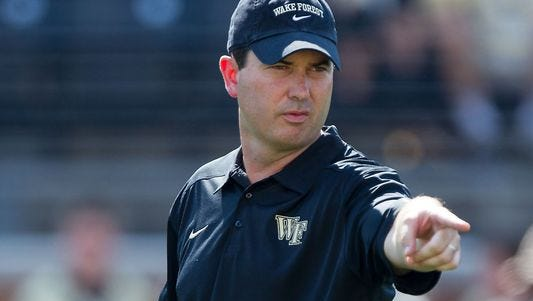 Tommy Elrod, a former Wake Forest player, assistant and later member of the program's radio broadcast crew, has been accused of sharing details of the Demon Deacons' game plans with opponents, including Louisville and Virginia Tech.