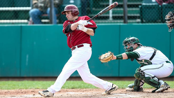 Dan Sepic has displayed a good hitting stroke at Indiana University of Pennsylvania, and this summer with the Richmond Jazz.