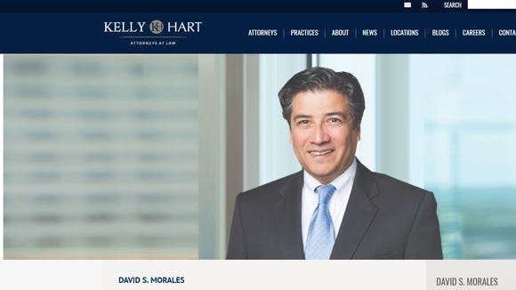 David S. Morales has been nominated by President Donald