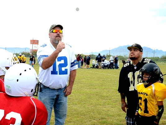 county steps up for youth football