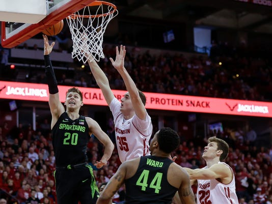Matt McQuaid, Nate Reuvers, Nick Ward, Ethan Happ