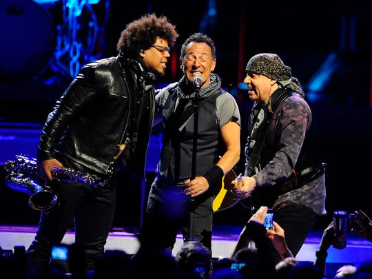 Saxophonist Jake Clemons, nephew of the late Clarence Clemons, Bruce Springsteen and guitarist Stevie Van Zandt bring The River Tour to The Palace of Auburn Hills.