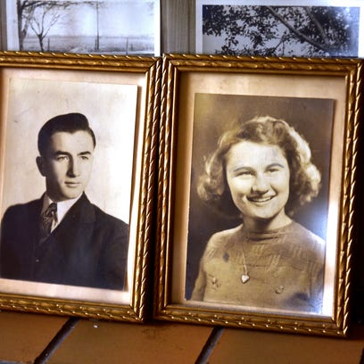 Photos of Howard and Mary Sachs when they were high