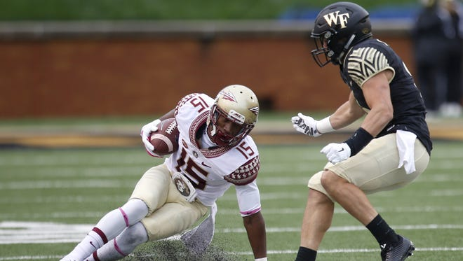 Florida State defeated Wake Forest 24-16 on the road in Winston Salem, NC in 2015.