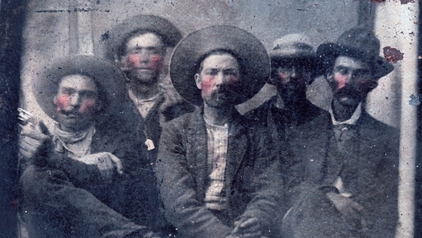 Rare photo shows Billy the Kid and the man who shot him, experts say