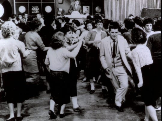 """""""American Bandstand"""" first aired as a local show in"""