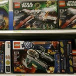 Star Wars Lego toys are displayed at a Target Store in Colma, Calif.