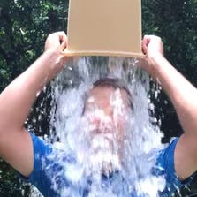 Chris Kennedy of Sarasota kicks off a worldwide phenomenon by dumping ice water over himself in support of ALS.