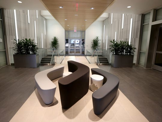 The lobby area at  Jeffrey R. Anderson's new office