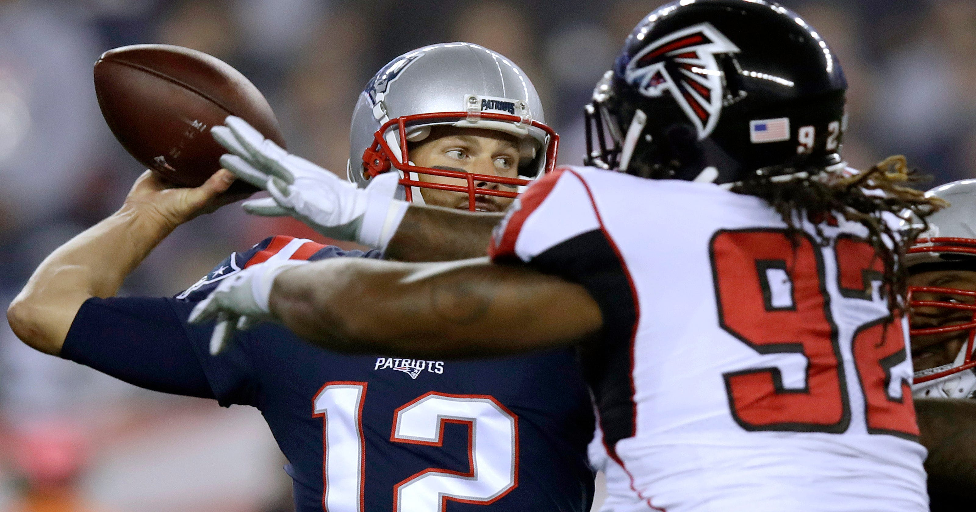 Super mismatch: patriots continue mastery of falcons 23 7