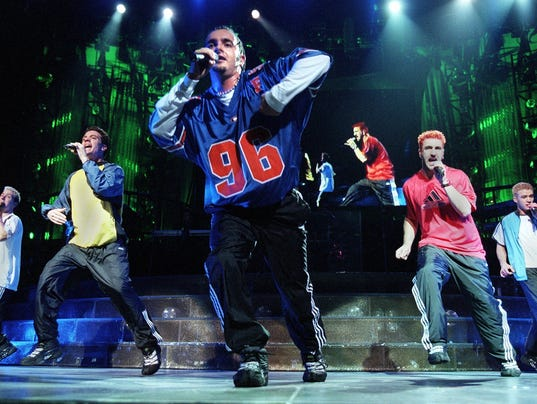 'N Sync in concert at the Bradley Center