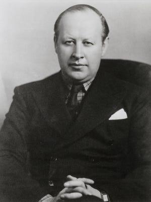 Cincinnati Symphony Orchestra conductor Eugene Goossens, 1931-1947 Enquirer file Scanned 10/21/2016