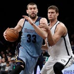 Conley, Gasol help Grizzlies send Nets to 13th straight loss