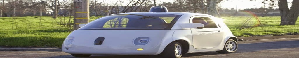 Google driverless cars in