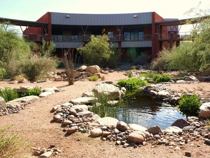 Opened in 2001, MCC's Red Mountain campus sits on 100