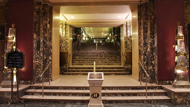 The Hilton Cincinnati Netherland Plaza will host Heritage Ohio's annual preservation conference this week.