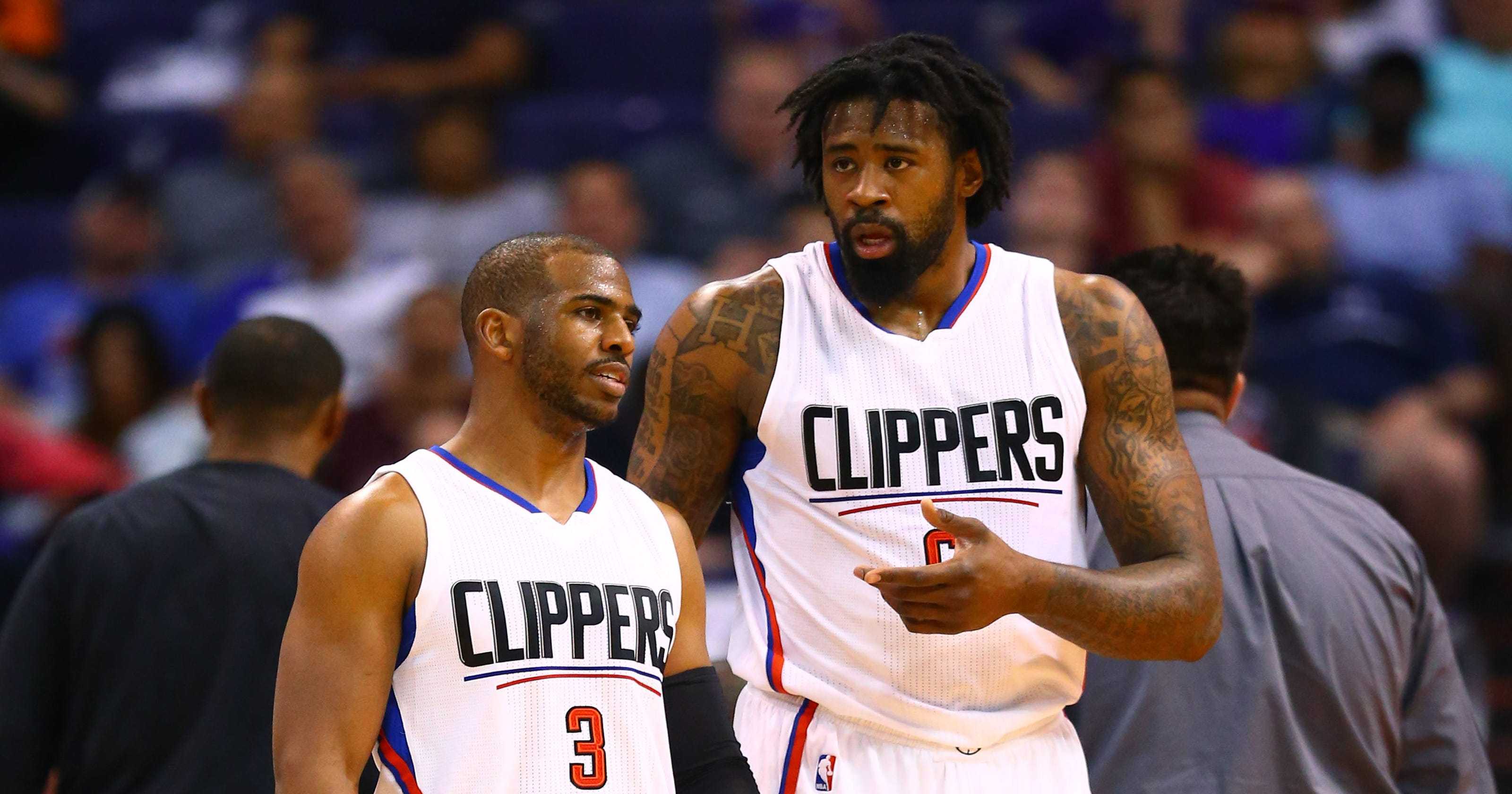 Chris Paul on relationship with DeAndre Jordan  We talk  just about every  day  9705f887e